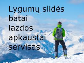 Lygumų slidinėjimo batai ir ne tik
