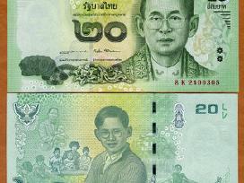 Tailandas 20 Baht 2017m. P-new Unc Proginė