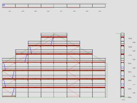 Vokiški Layher fasadiniai ir moduliniai pastoliai