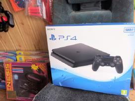Playstation 4 slim 500gb naujas su garantija