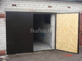 Laiptinių, garažo, rūsio metalinės durys - nuotraukos Nr. 4