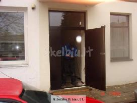 Laiptinių, garažo, rūsio metalinės durys - nuotraukos Nr. 10