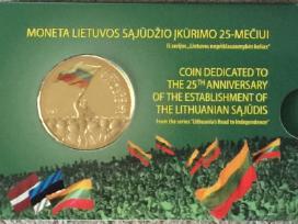 Moneta Lietovos sąjūdžio įkūrimo 25-mečiui