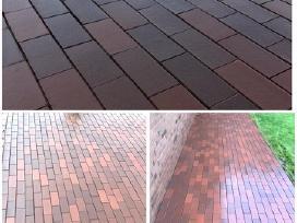 Trinkelių fasadų stogų plovimas
