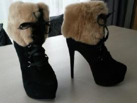 Parduodu zieminius moteriskus aukstakulnius batus