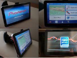 7 GPS navigacija 256mb RAM 8gb Nauja