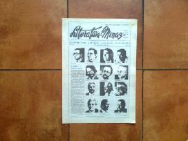 """Lakrasciai """"Literatura ir menas"""" 1989 m. 18-25 Nr."""