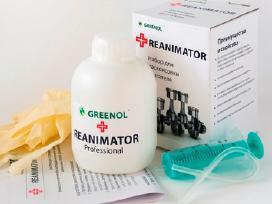 Greenol reanimator, antikoksavimo priemonė