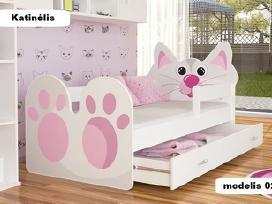 Viengulės,dvigulės,dviaukštės lovos nuo 110€