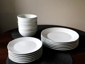 Porcelianiniai balti indai