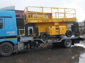 Tralas Platforma, Krovinių - Traktorių vežimas 17t - nuotraukos Nr. 11