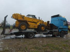 Tralas Platforma, Krovinių - Traktorių vežimas 17t - nuotraukos Nr. 12