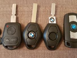 BMW 530 dalimis. Bmw raktai klasė e39 e46 e53 e60 e61 e92 f10