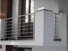 Turėklai, balkonai, tvorelės ir kiti gaminiai - nuotraukos Nr. 7