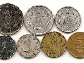 Kinijos monetu rinkinukas