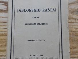 J. Jablonskio raštai 1-5 tomai. 1936m.