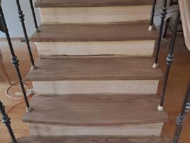 Medinių grindų ir parketo šlifavimas lakavimas - nuotraukos Nr. 3