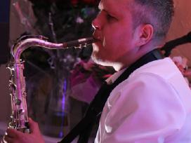 Saksofonas. Saksofono muzika. - nuotraukos Nr. 3