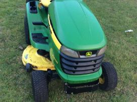 John Deere X300r traktoriukas-žoliapjovė