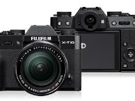 Fujifilm X-t10, X-t20 (Xt20), fotoaparatai, nauji