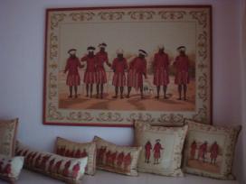 Gobeleno paveikslai ir gobeleno pagalvėlės