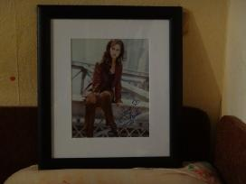 Jenifer Love Hewitt nuotrauka su jos autografų