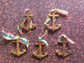 Tarpukario jūros šventės ženkliukai