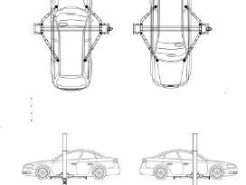 Dviejų kolonų automobilių keltuvas - 4,0 t - nuotraukos Nr. 11