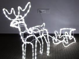 Kalėdinės lauko girliandos - nuotraukos Nr. 7