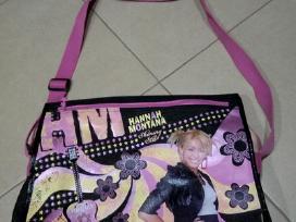 Mokyklinės kuprinės ir tašė Hannah Montana