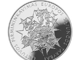 Moneta, skirta Lietuvos pirmininkavimui Es Tarybai