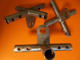 Metalo suvirinimo, tekinimo, frezavimo darbai