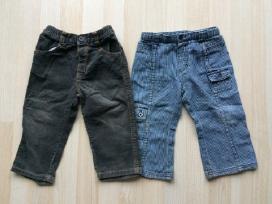 Džinsai ir velvetinės kelnės 86 -104 cm