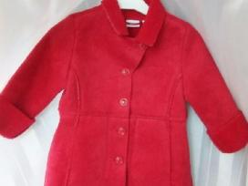 Naujas Mexx raudonas paltukas, 1,5 m. mergytei