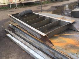 Metaliniai laiptai, naudoti