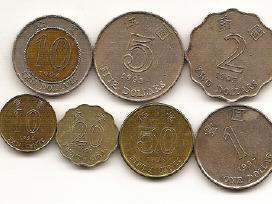 Honkongo monetu rinkinukas