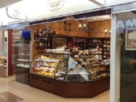 Šokolado pardavejas Vilniuje