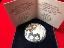 Kryždirbystė, 50 litų sidabro moneta, 2008m