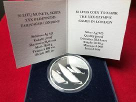 50 Litų Moneta, Skirta Xxx Olimpinėms Žaidynėms Lo