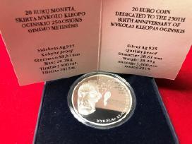20 Eurų Moneta, Skirta Mykolo Kleopo Oginskio 250