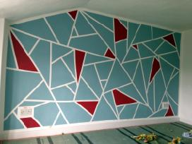 Apdaila/glaistymas/dažymas/poliuretano dekorai