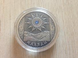 20 Rublių nominalo sidabrinė moneta