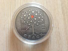 """20 Rublių sidabrinė kolekcinė moneta """"Spasy"""" 2009"""