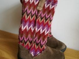 Keen žieminiai batai su natūraliu kailiu 26 dydis.
