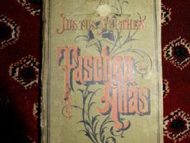 Antikvarinis retas atlasas (1884 m.)
