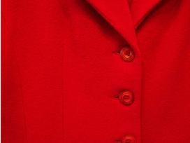 S/m d. Vilnos, šiltas raudonas švarkelis