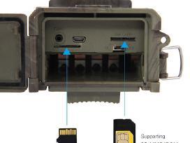 Medžiokline lauko kamera Hc-300m su Mms funkcija - nuotraukos Nr. 4