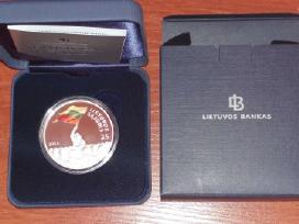 50 Litų Moneta, Skirta 1863–1864 M. Sukilimo 150 M