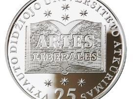 50 Litų Moneta, skirta Vdu atkūrimo 25-mečiui