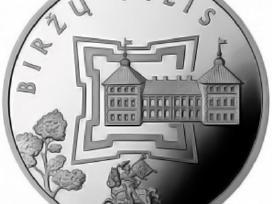 """50 litų moneta """"Biržų pilis"""""""